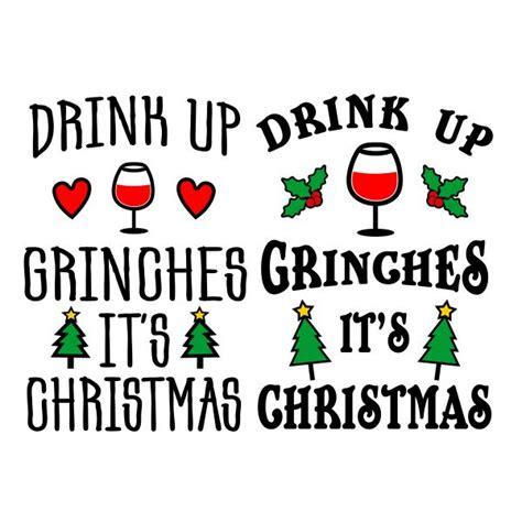 drink  grinches cuttable design