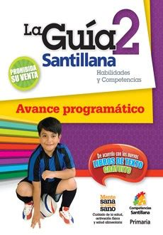 editorial santillana guia de 5 grado guia santillana 2 habilidades y competencias avance