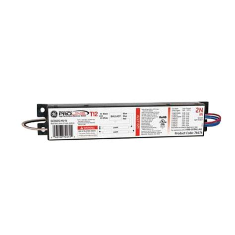 1 L T12 Ballast by 120 To 277 Volt Electronic Ballast For 8 Ft 2 Or 1 L