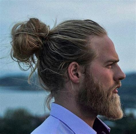 mens hair long pony on top buzz side and back coque samurai masculino como fazer estilos e 80 fotos