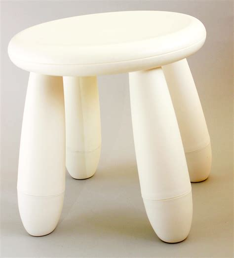 Child With White Stool by Stool White Polkadot Hire