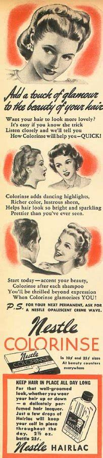 1920s hair color hair color and haircolor products in the 1920s