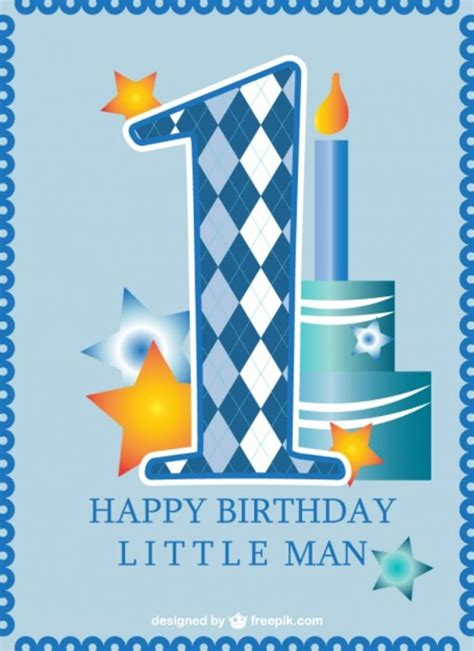 Happy 1st Birthday Card 8 Best Images Of Free Printable First Birthday Cards