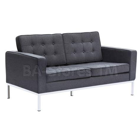 button loveseat in wool grey seats fmi2214 2 grw 8
