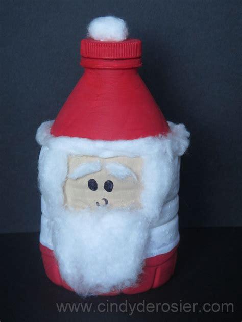 imagenes de santa claus reciclado water bottle santa claus fun family crafts