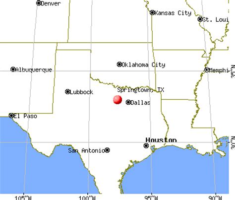 springtown texas map from springtown texas