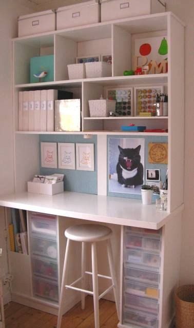 organized desk space desk organizing craft areas pinterest a scrapbooking workstation pros very clean and