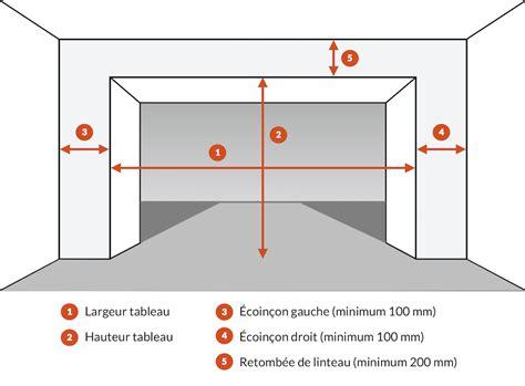 Dimension Porte De Garage Sectionnelle by Porte Sectionnelle Isol 233 E Rainure Woodgrain Blanche