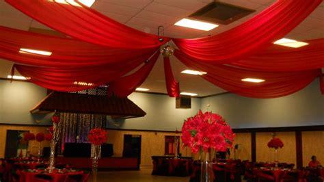 Dance Decorations Red Chiffon Ceiling Drape Ceiling Drape Pinterest