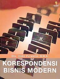 Korespondensi Bahasa Indonesia toko buku rahma korespondensi bisnis modern