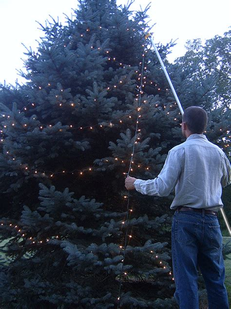 the best christmas light hanging pole