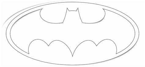 logo coloring pages free printable batman logo cliparts co