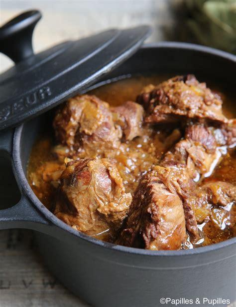 cuisiner des joues de porc joues de porc confites au cidre et au miel