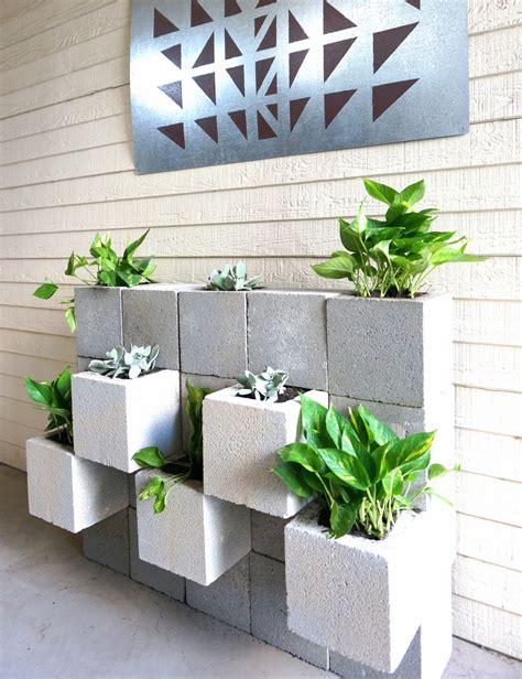 cinder block planters       page