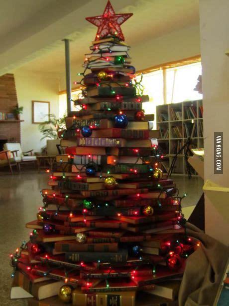recycled christmas tree books vintage christmas 2