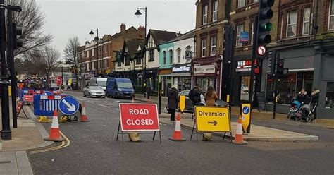 latest uk and world news sport and comment daily express uxbridge road closed as sinkhole appears causing rush