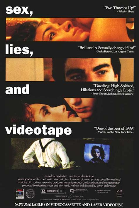 Lies Videotape 1989 Looking Back Cinema S Greatest Moments Lies And Videotape 1989 Filmfestivals Com