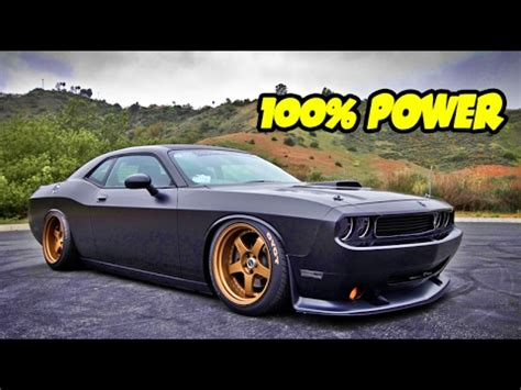 modified dodge challenger srt demon cars youtube