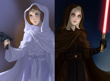 Star Wars inspired dress up game