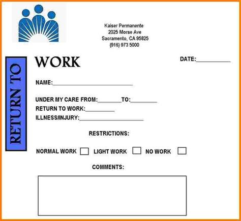 doctor receipt template free free printable doctors note for work health symptoms and
