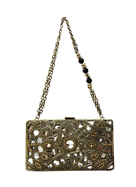 Mirror Frame Bag From Accessorize by Meera Mahadevia Rectangular Mirror Work Frame Shop