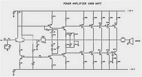 Power Lifier Phase Audio transistor audio lifier circuit diagram pdf wiring diagram