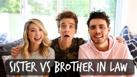 sister vs brother in law youtube