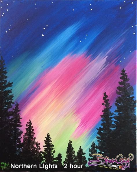 light wine for beginners northern lights painting for beginners 25 best ideas