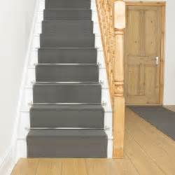 Grey Stair Runner by Dark Grey Stair Runner Rug Plain