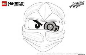 coloriage ninjago lego 1 face zane dessin