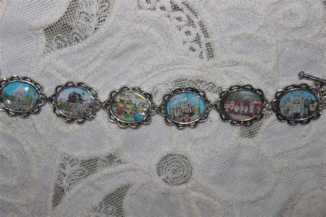 disneyland images retro disneyland postcards bracelet hd
