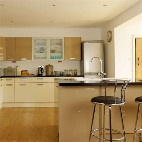 kitchen unit design contemporary neutral kitchen kitchen idea housetohome