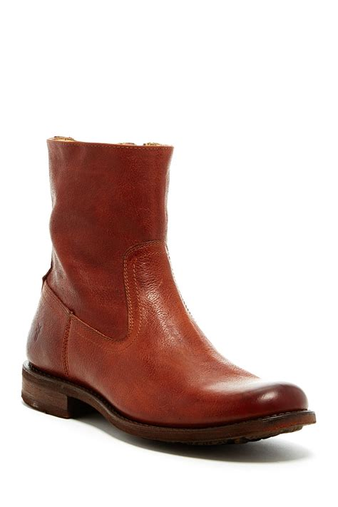 frye inside zip boot nordstrom rack