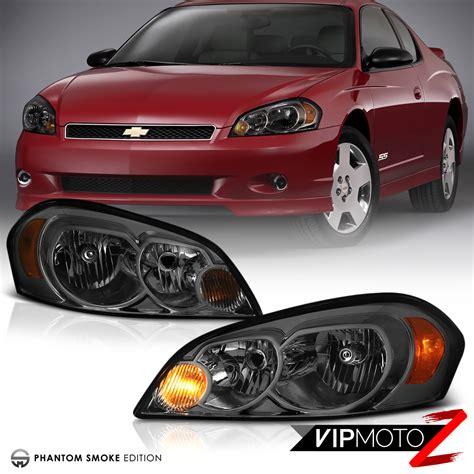 2006 impala headlight smoke 2006 2013 chevy impala tinted front headlight