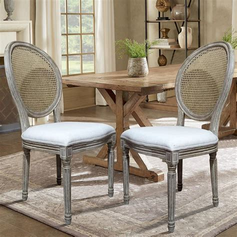 louis dining chairs louis beige dining chair set of 2 dwc 455bg the