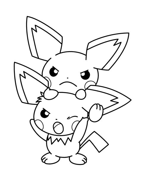 coloring pages free com pikachu pokemon pokemon coloring pages free printable kids
