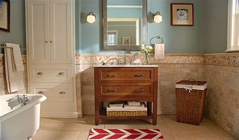 Bathroom Ideas Home Depot Bath Vanity With Oasis Effects Vanity Top And Decorative Basket Is An All In One