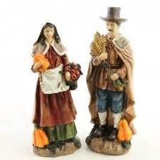 resin pilgrim and indians resin harvest figurine indians pilgrims turkeys thanksgiving fall seasonal