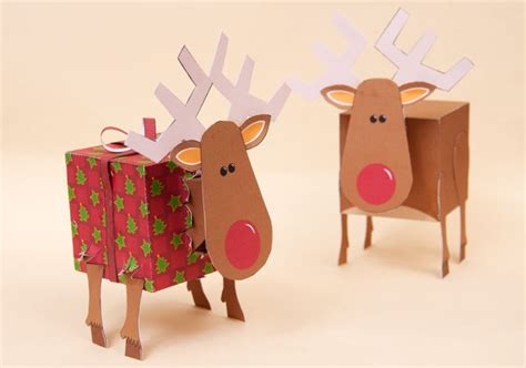 How To Make A Paper Reindeer - platonic reindeer late stage prototype rob ives