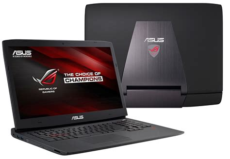 asus rog announces g751 gaming laptop with gtx 900m series graphics rog republic of gamers