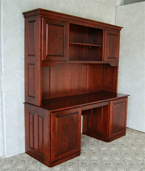 Cherry Desk With Hutch De Vries Woodcrafters Cherry Desk With Hutch