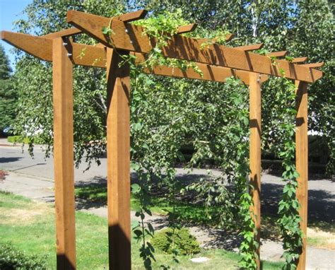 backyard trellis designs hops trellis ideas brewersfriend com garden