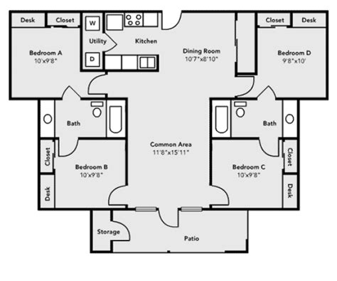 average square footage of a 3 bedroom house average square footage of a 3 bedroom 1 bath house