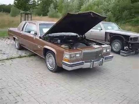 1983 Cadillac Coupe Parts by Cadillac Coupe 1983 Ht4100 Engine Running