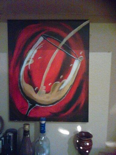 paint with a twist wine glass 25 best ideas about wine painting on black