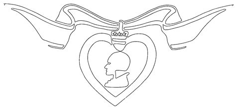 purple heart coloring page purple heart coloring page