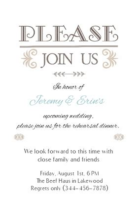 wedding dinner invitation card template rehersal dinner invitations template resume builder