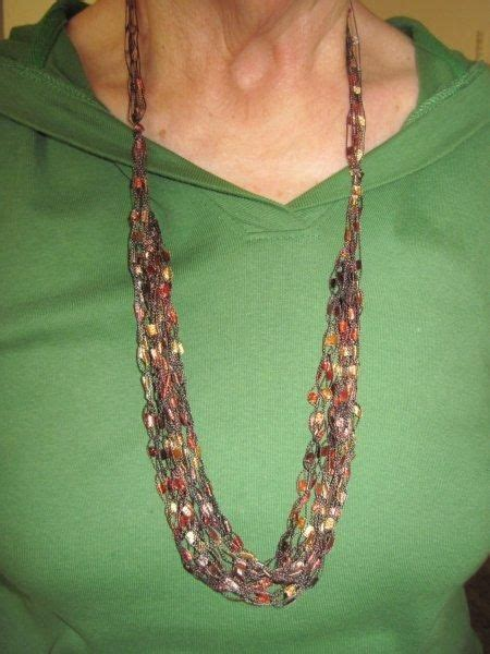 pattern yarn necklace 29 best ladder yarn projects images on pinterest ribbon
