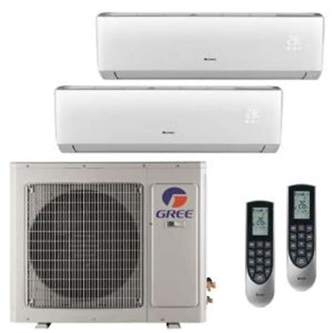 gree multi 21 zone 24 000 btu 2 ton ductless mini split