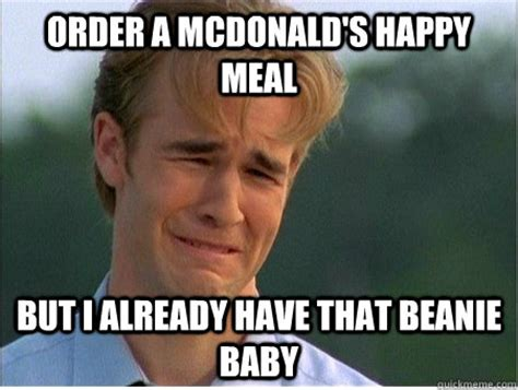Happy Meal Meme - best of the 1990s problems meme 24 pics pleated jeans